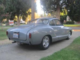 1964 Vw Karmann Ghia West Coast Custom Built Classic photo