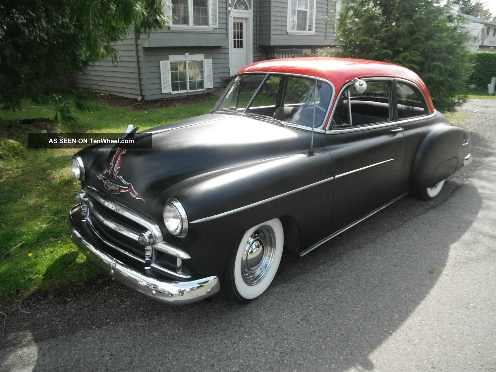 1950 chevy 2 door coupe deluxe