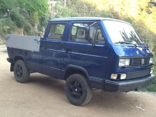 1980 Volkswagen Syncro Tristar 4x4 Doka Not A Westfalia Front And Rear Lockers photo