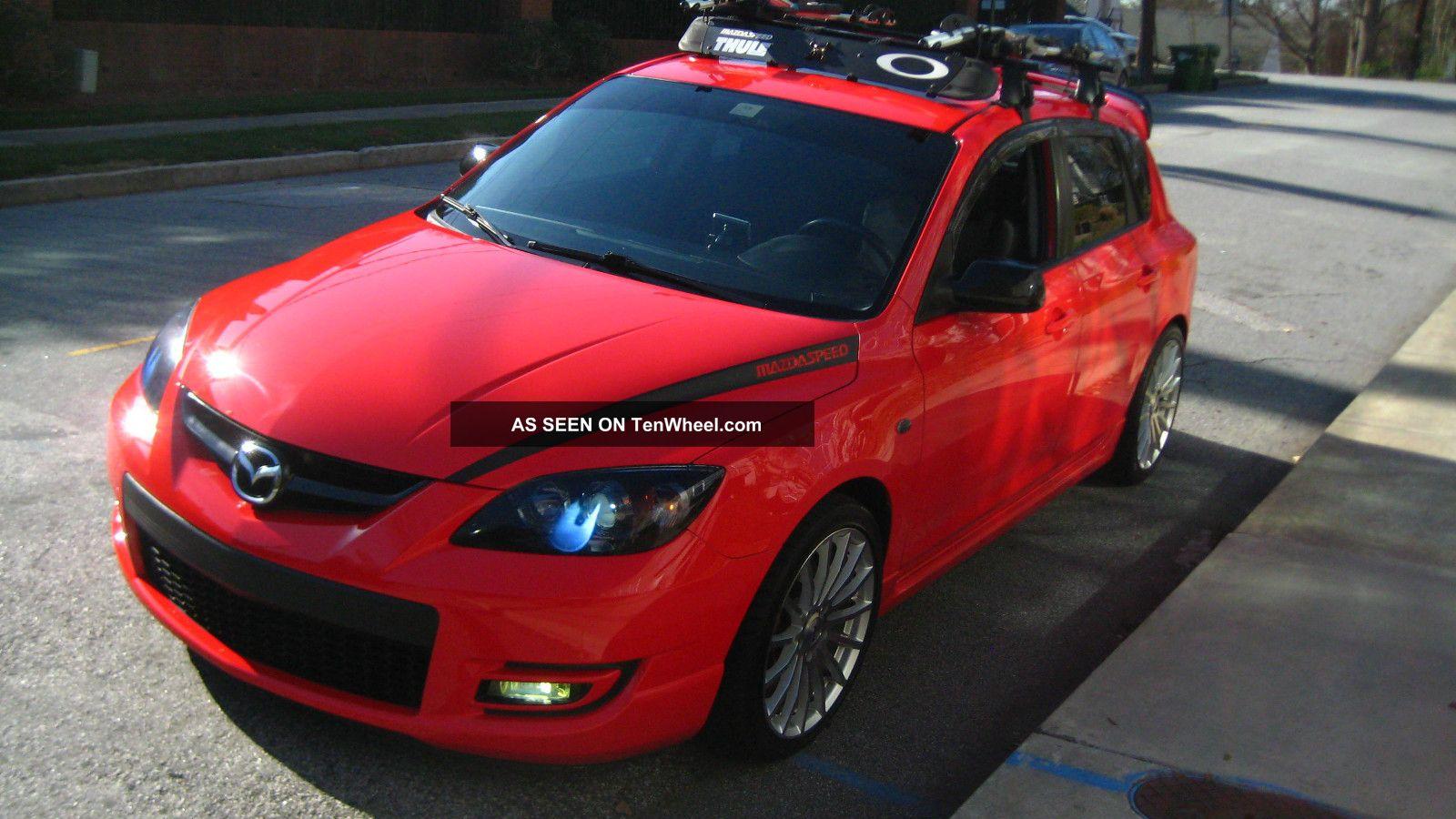 2007 Mazda 3 Mazdaspeed Hatchback 4 Door 2 3l