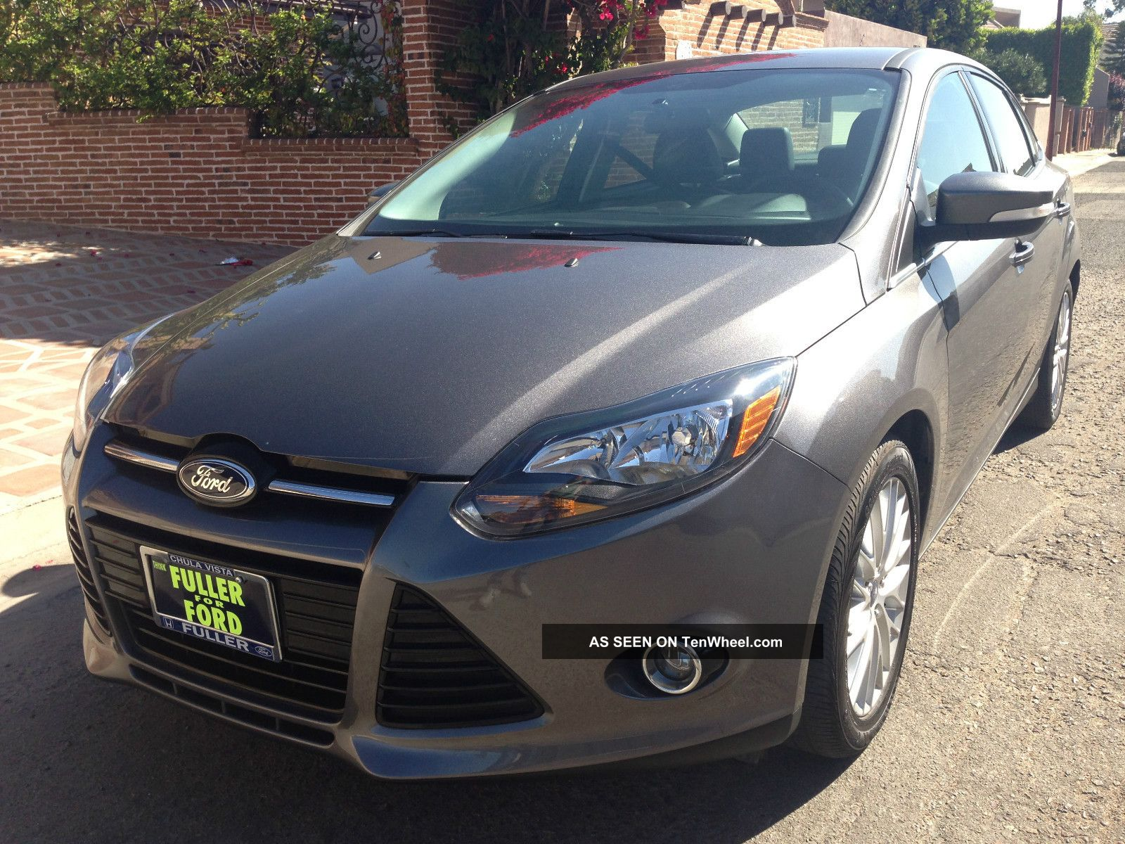 2013 Ford Focus Titanium Rebuilt Title In Hand Fully Loaded
