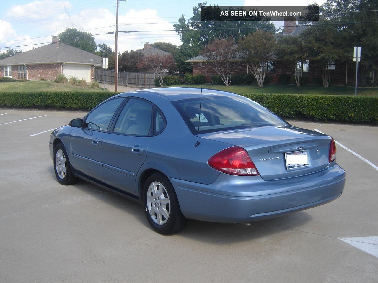 2006 Nissan Sentra Se R Spec V >> 2006 Ford Taurus Se V6 With 3. 0 L