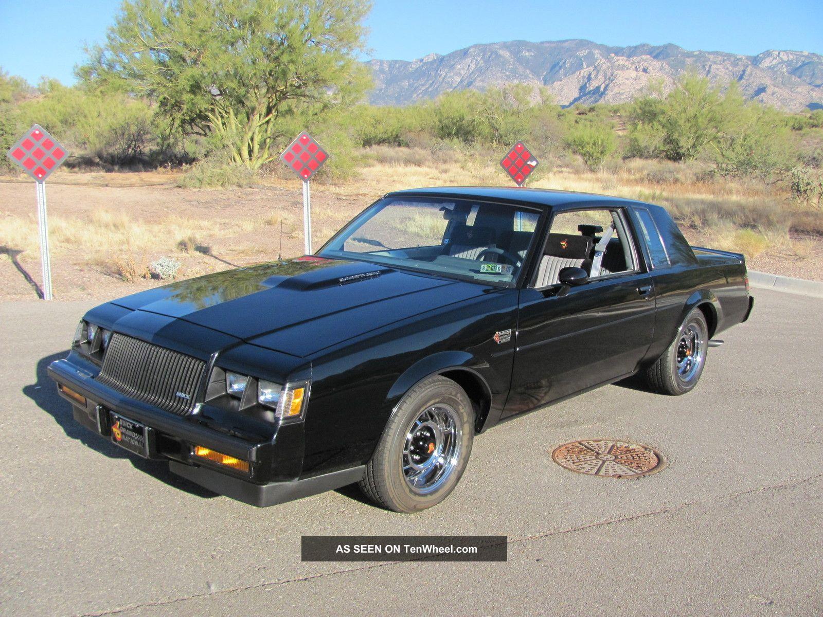 1987 buick regal grand national 3 8l turbo v6 only 46k paint. Black Bedroom Furniture Sets. Home Design Ideas