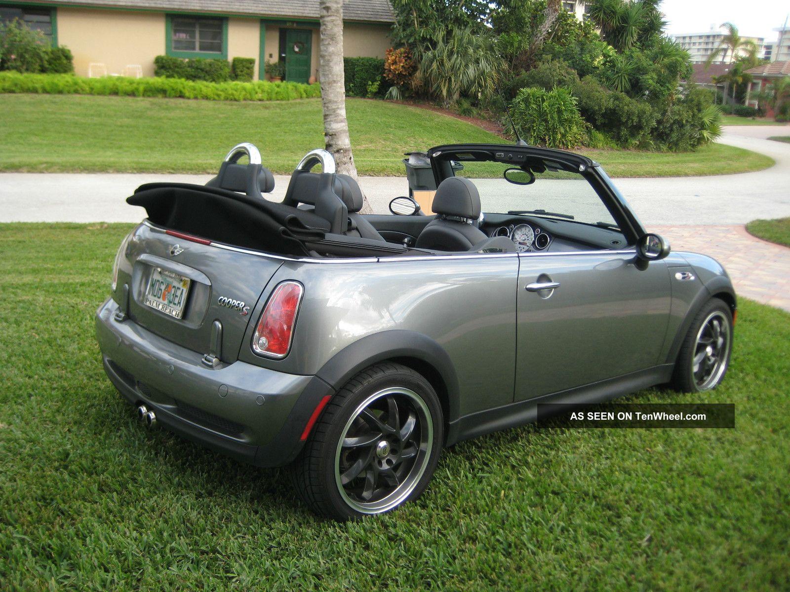 2005 mini cooper s convertible 2 door 1 6l. Black Bedroom Furniture Sets. Home Design Ideas