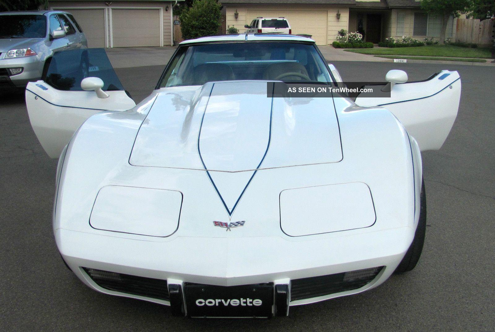 1977 Chevrolet Corvette Base Coupe 2 - Door 5.  7l Corvette photo