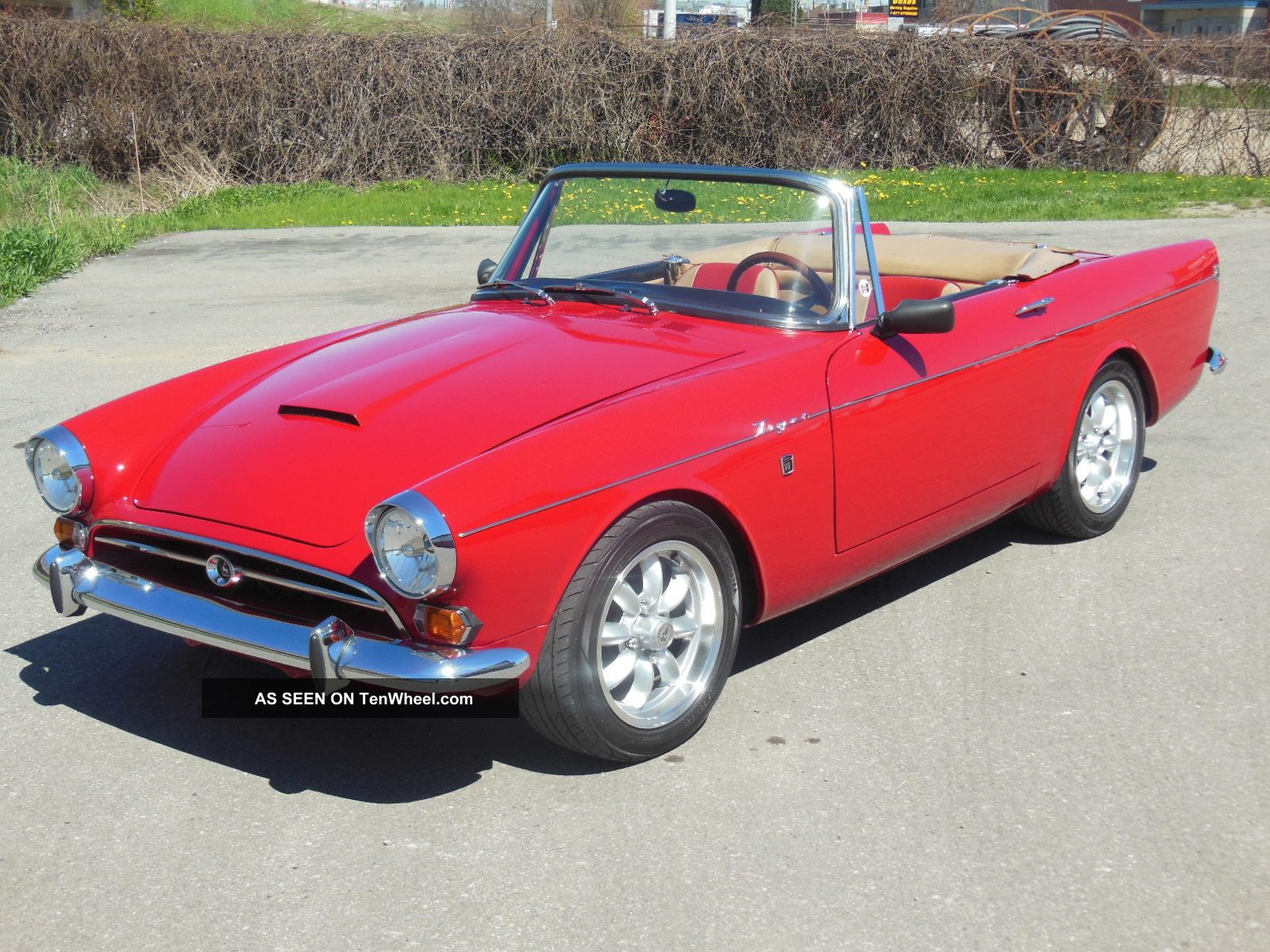1966 sunbeam tiger convertible mk1
