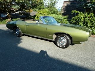 1968 Automatic Convertible,  Green,  Partial Restoration,  All,  Matching photo