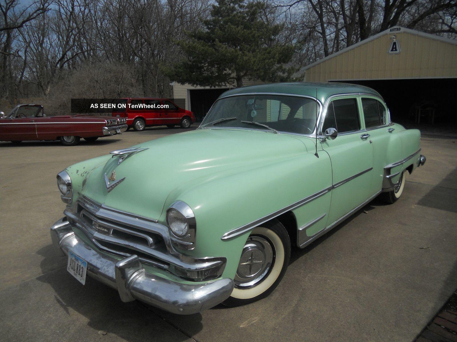 1954 Chrysler Yorker Deluxe New Yorker photo
