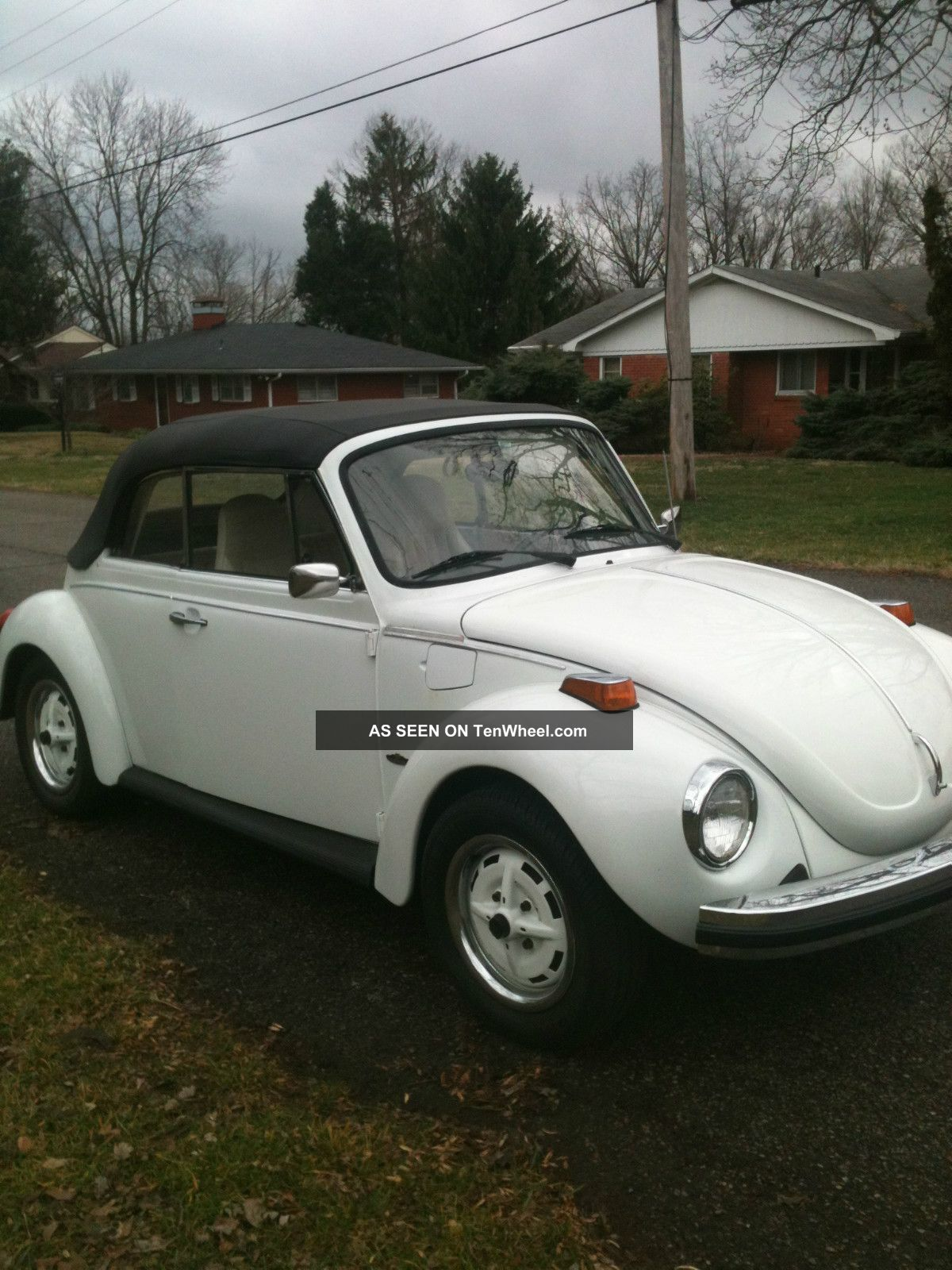 1975 Beetle Convertible - Just In Time To Put The Top Down Beetle - Classic photo