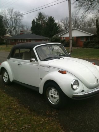 1975 Beetle Convertible - Just In Time To Put The Top Down photo