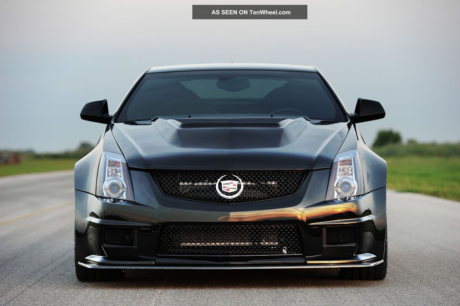 2013 cadillac cts v hennessey vr1200 twin turbo coupe 1200. Black Bedroom Furniture Sets. Home Design Ideas