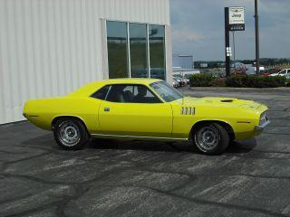 1971 Plymouth Cuda 5.  6l photo