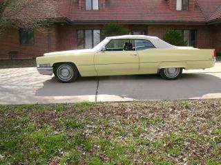 1969 Cadillac Deville Convertible - photo