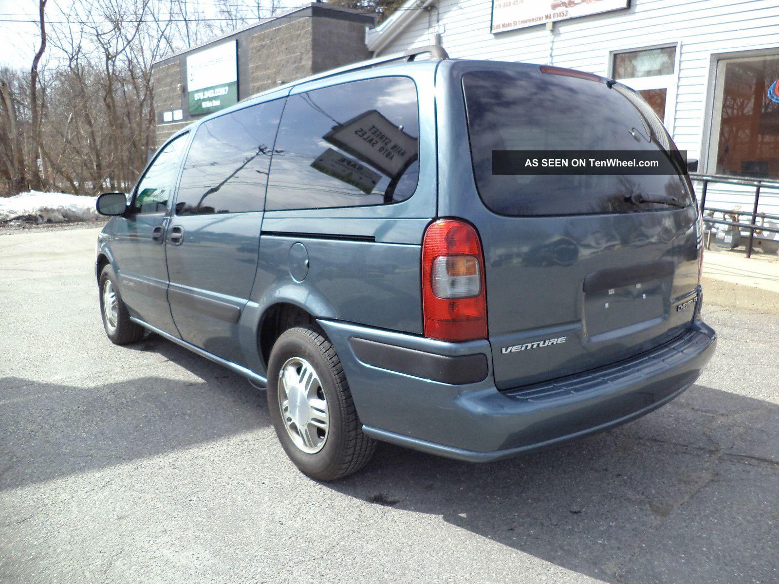 2004 Chevrolet Venture Ls Extended Mini Passenger Van 4