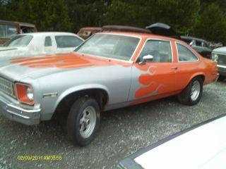 1977 Chevrolet Nova Body photo
