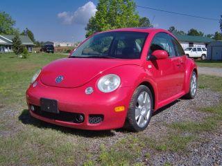 2003 Volkswagen Beetle Turbo S Hatchback 2 - Door 1.  8l 6spd.  Vgc.  Cheap photo