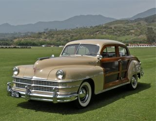 1948 Chrysler Town & Country Woody Sedan - Extremely Unrestored Condition photo
