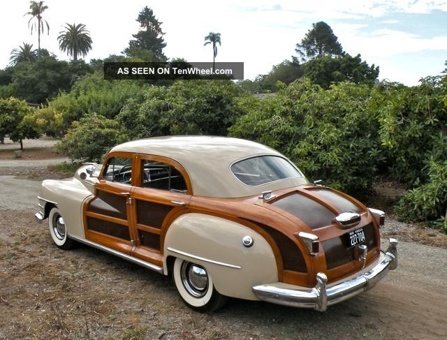 1948 Chrysler Town Amp Country Woody Sedan Extremely