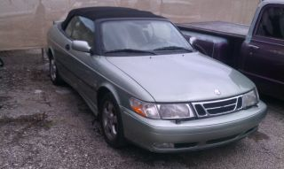 2001 Saab 9 - 3 Se Convertible 2 - Door 2.  0l photo