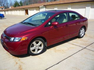 2006 Honda Civic Ex Sedan 4 - Door 1.  8l photo