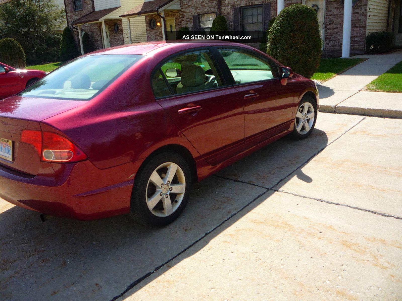 2006 Honda Civic Ex Sedan 4 Door 1 8l