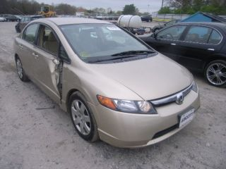 2008 Honda Civic Lx Sedan 4 - Door 1.  8l photo