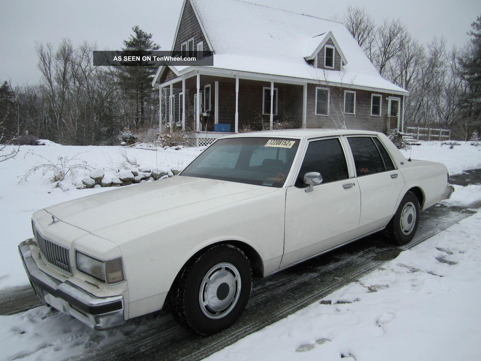 1990 Chevy Caprice Police 9c1 Caprice photo