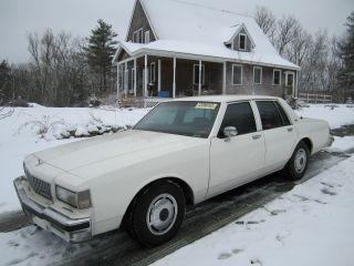 1990 Chevy Caprice Police 9c1 photo