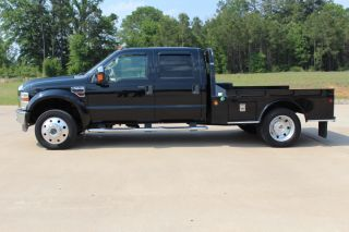 2008 Ford F - 450 Duty Lariat Crew Cab Pickup 4 - Door 6.  4l photo