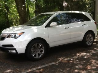 2012 Acura Mdx Base Sport Utility 4 - Door 3.  7l photo