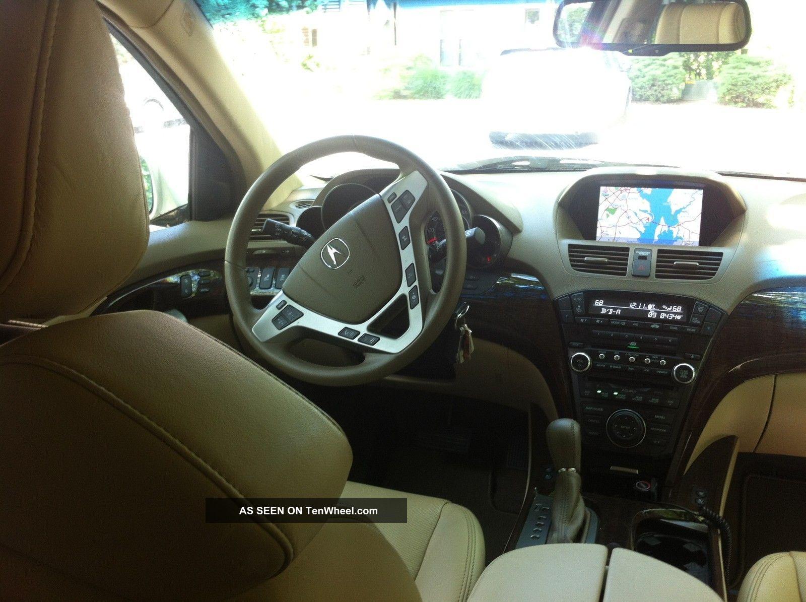 2012 Acura Mdx Base Sport Utility 4