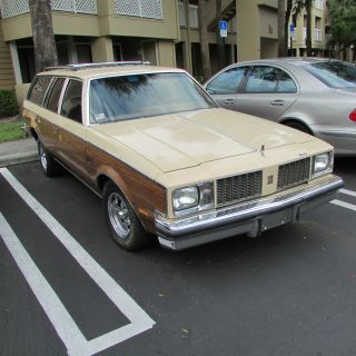 1979 Oldsmobile Cutlass Cruiser Brougham No Rust photo
