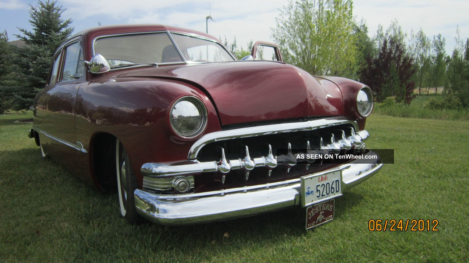 1951 ford 2 door sedan custom for 1951 ford 4 door sedan