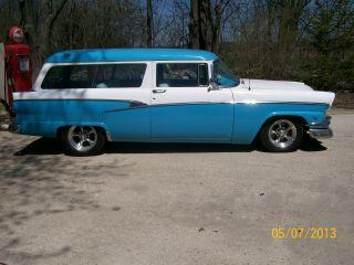 1956 Ford Ranch Wagon,  Hot Rod,  Street Rod photo