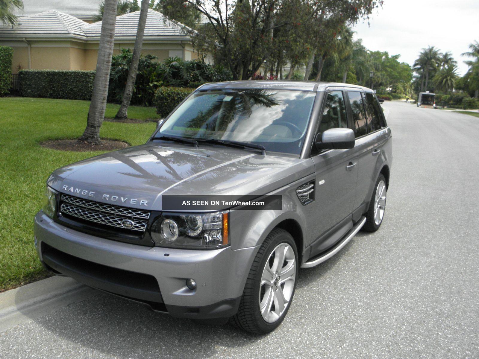 2012 land rover range rover sport hse sport utility 4 door 5 0l. Black Bedroom Furniture Sets. Home Design Ideas