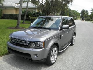 2012 Land Rover Range Rover Sport Hse Sport Utility 4 - Door 5.  0l photo