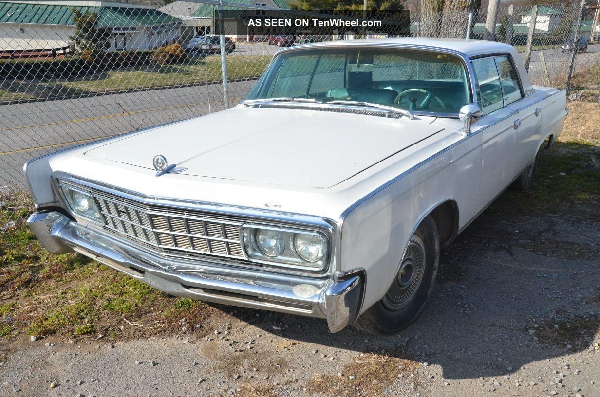1966 Chrysler Imperial Crown 4 Door Hardtop Imperial photo