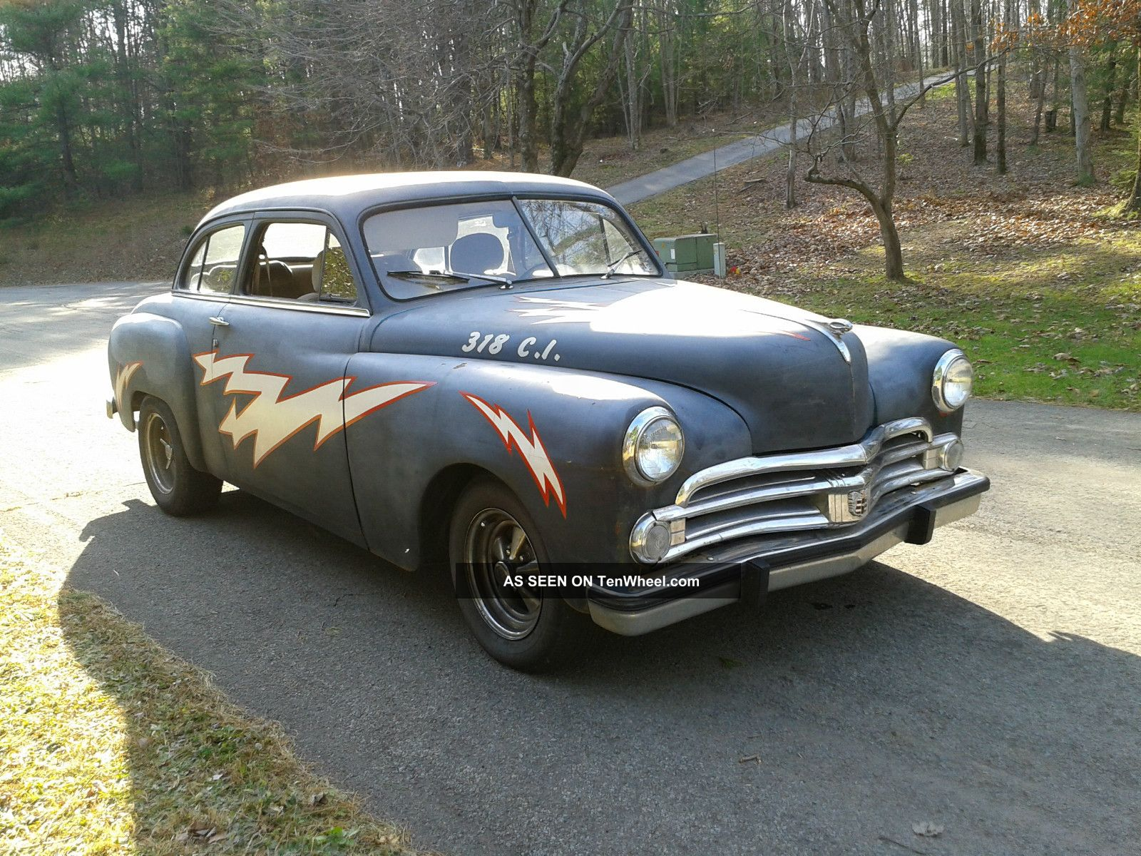 1950 Dodge Wayfarer Rat Rod Cruiser Greased Lightning Other photo