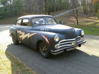 1950 Dodge Wayfarer Rat Rod Cruiser Greased Lightning photo