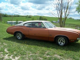 1971 Oldsmobile Cutlass Supreme Base 5.  7l photo