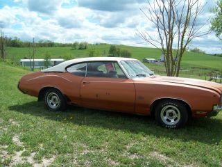 1971 Oldsmobile Cutlass Supreme Base 5.  7l photo
