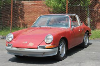 1967 Porsche 912 Soft Window Targa photo
