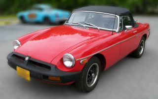 1975 Mg Mgb Mkiv 4 Cyl.  1.  8 Liters 90% photo