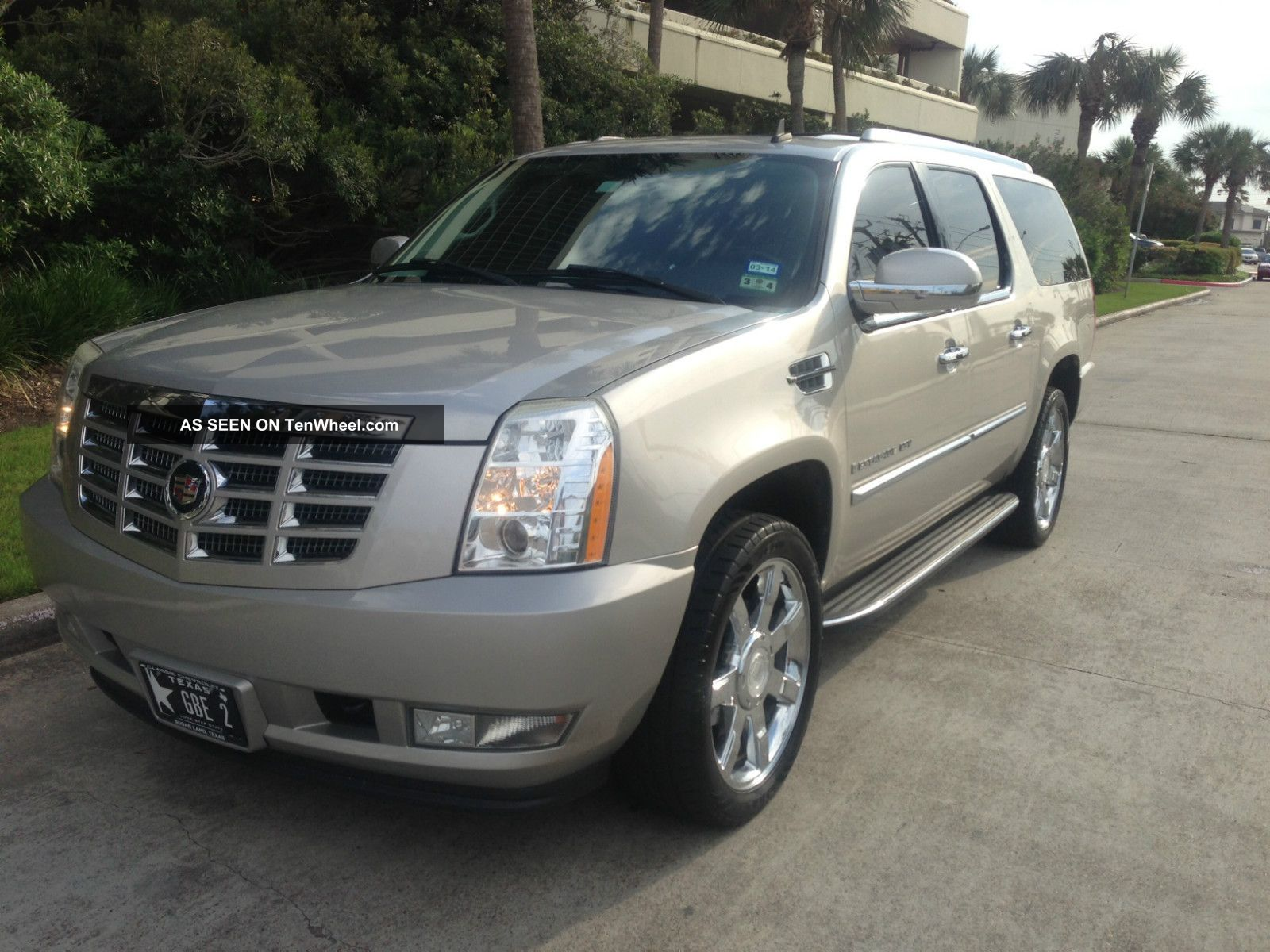 2007 cadillac escalade esv awd 6 2 v8 premium pkg 22in chrome wheels. Cars Review. Best American Auto & Cars Review