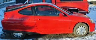 Red 2003 Honda Insight Auto Hybrid photo