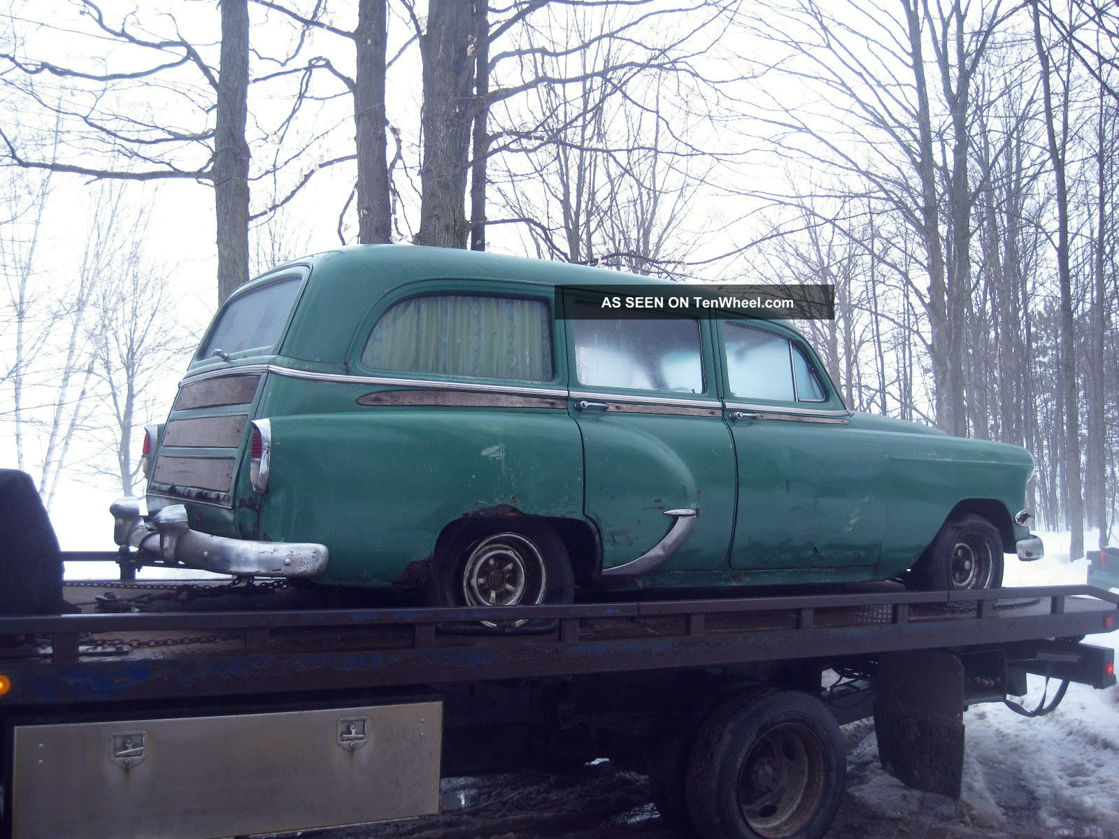 1954 Chevy Chevrolet Vintage Antique Wagon For Restore. Bel Air/150/210 photo