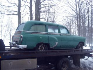 1954 Chevy Chevrolet Vintage Antique Wagon For Restore. photo