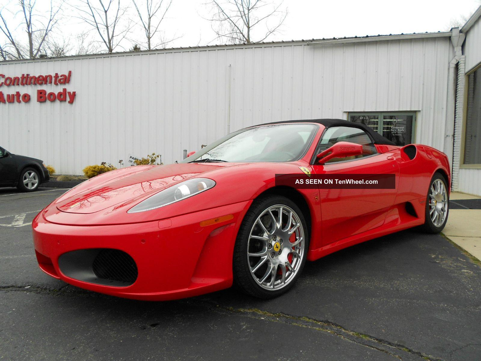 2008 Ferrari F430 Spider Convertible 2 - Door 4.  3l 430 photo