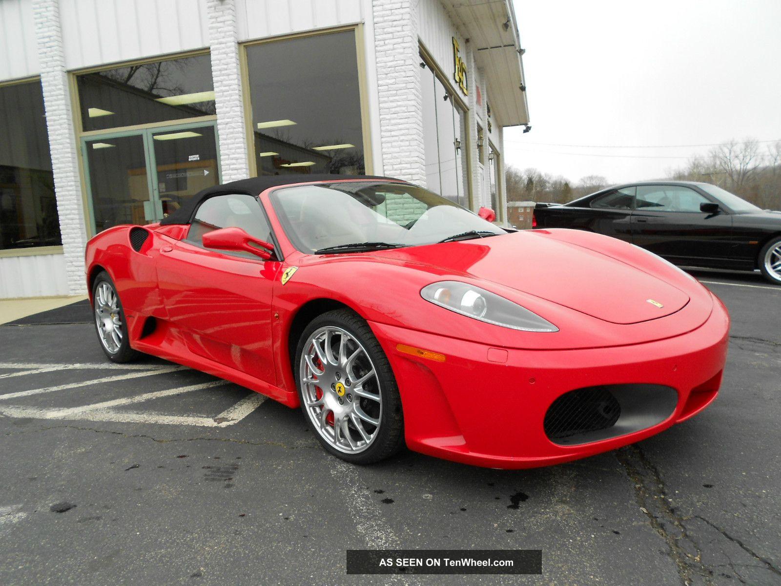 2008 Ferrari F430 Spider Convertible 2 - Door 4. 3l