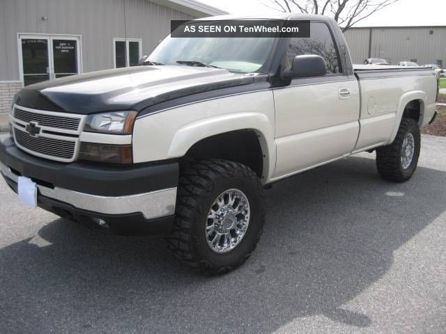 2007 Chevrolet Silverado 3500,  6.  6l Duramax,  Custom Paint,  Lots Of Extras Silverado 3500 photo